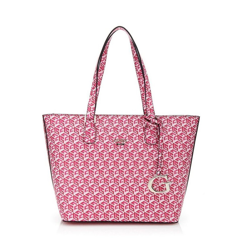 Guess Bauletto-Tasche G Cube in Rot