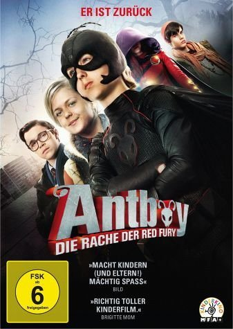 DVD »Antboy - Die Rache der Red Fury«