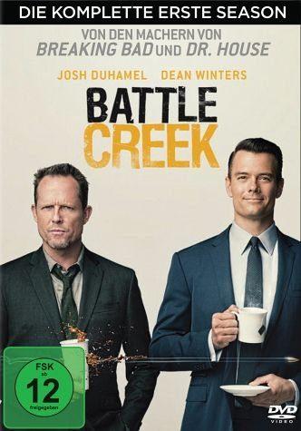 DVD »Battle Creek - Die komplette erste Season (3...«