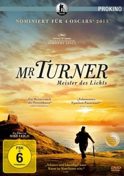 DVD »Mr. Turner - Meister des Lichts«