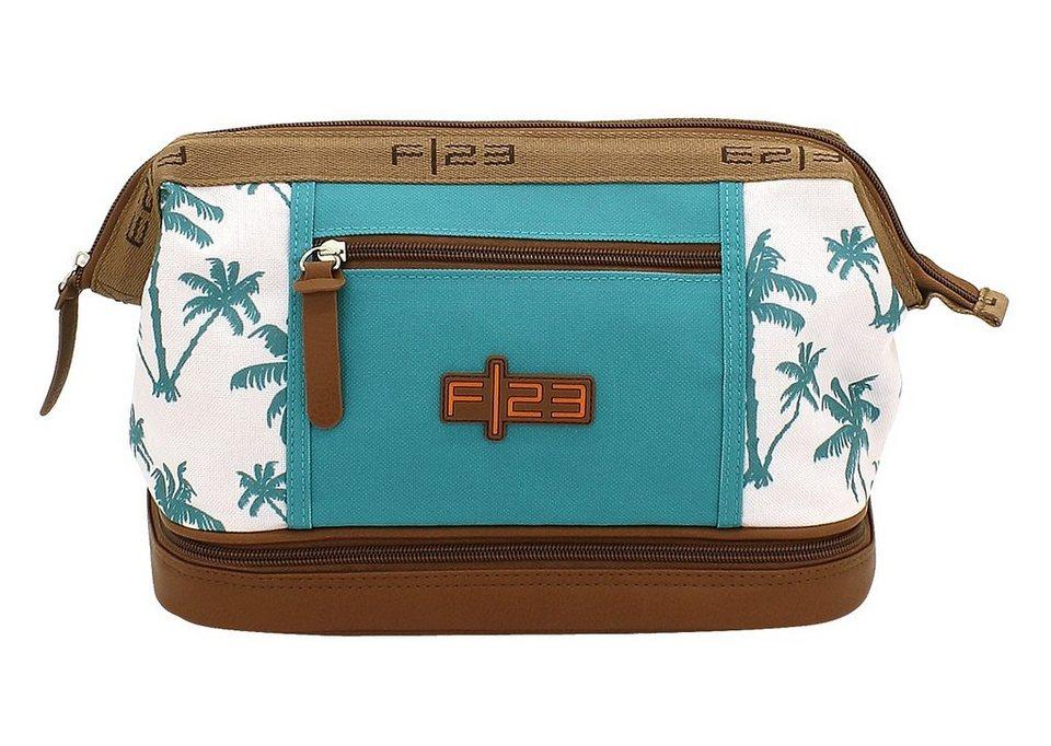 F23 Kulturtasche mit Nassfach, »Palm«