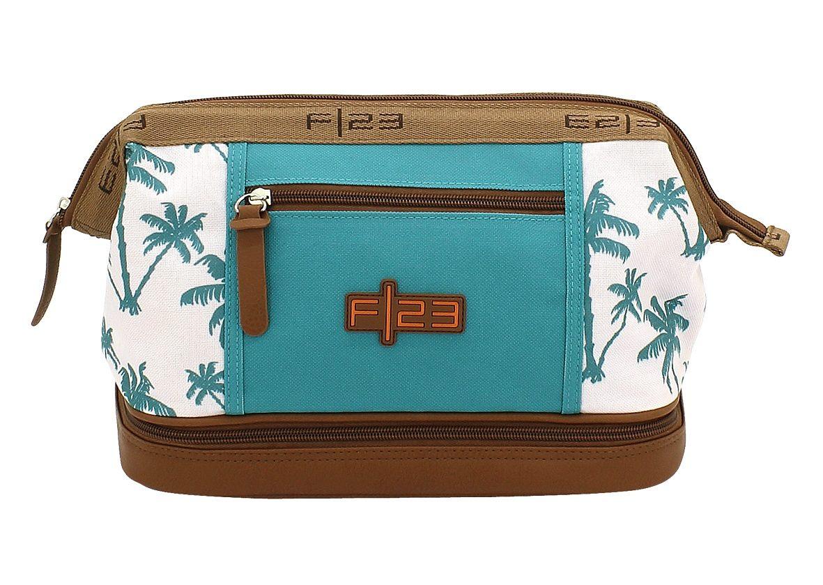 F23™, Kulturtasche mit Nassfach, »Palm«