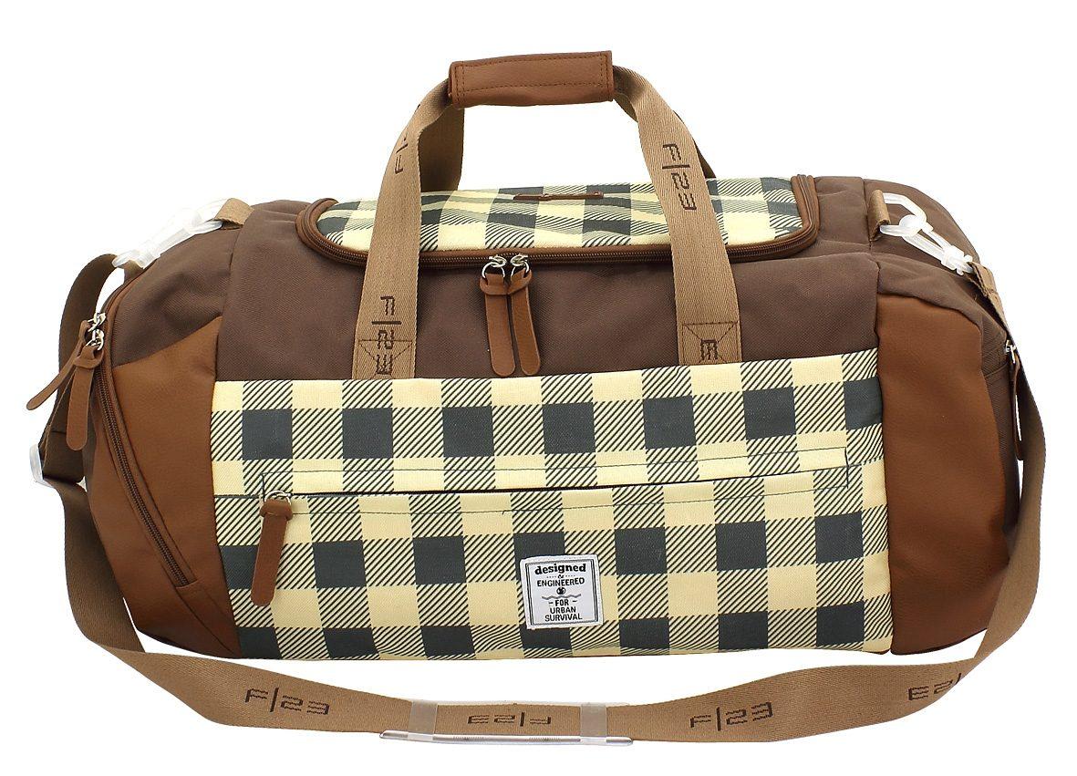 F23™, Reisetasche mit Nassfach, »Check«