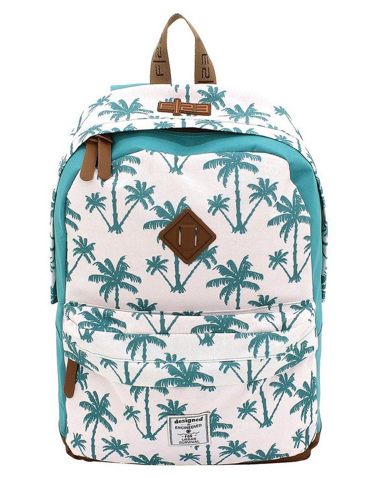 F23 Rucksack mit Laptop- und Tabletfach, »Daypack Palm«