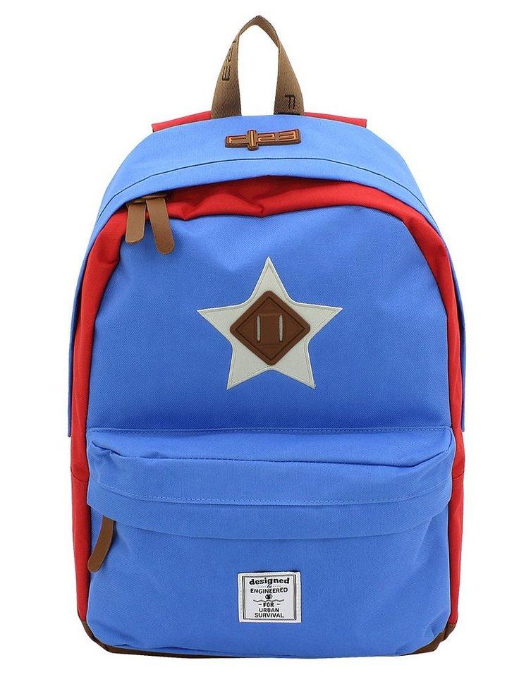 F23 Rucksack mit Laptop- und Tabletfach, »Daypack Star«