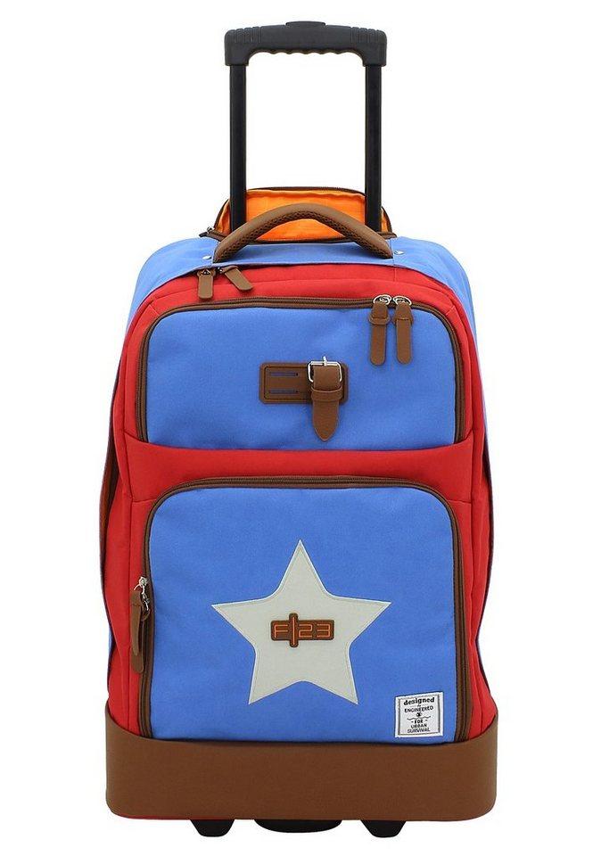 F23 Weichgepäck Trolley mit 2 Rollen, »Star«