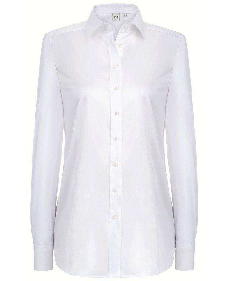 ETERNA 1/1-Arm Bluse »MODERN FIT« in weiß