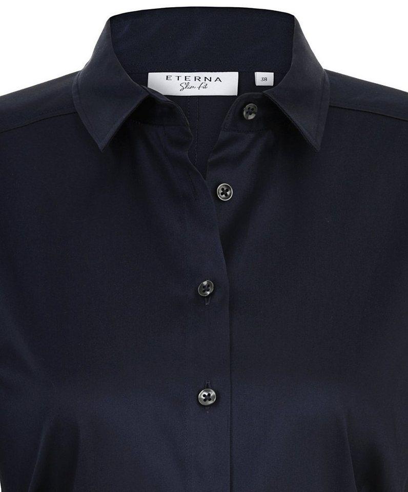 ETERNA 1/1-Arm Bluse »SLIM FIT« in marine