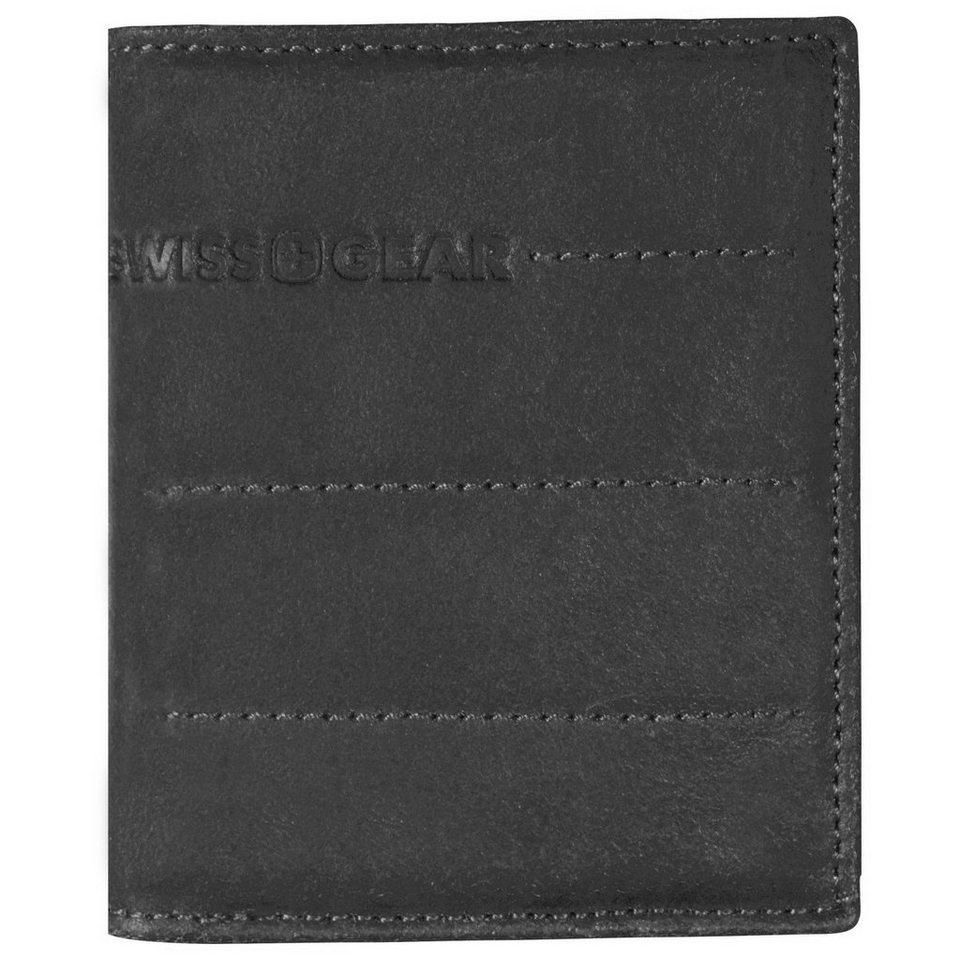 Wenger Swiss Gear Street Hunter Geldbörse Leder 9 cm in schwarz