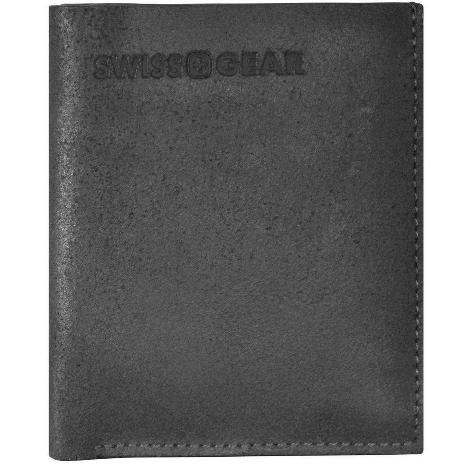 Wenger Swiss Gear Foggy Geldbörse Leder 9 cm in schwarz