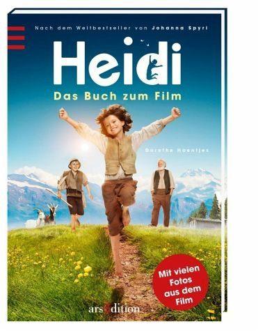 Gebundenes Buch »Heidi - Das Buch zum Film«