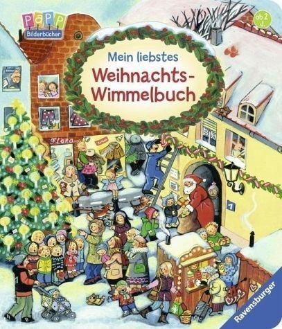 Gebundenes Buch »Mein liebstes Weihnachts-Wimmelbuch«
