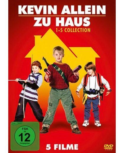 DVD »Kevin allein zu Haus - 1-5 Collection (5 Discs)«