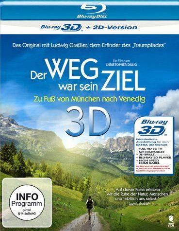 Blu-ray »Der Weg war sein Ziel (Blu-ray 3D)«