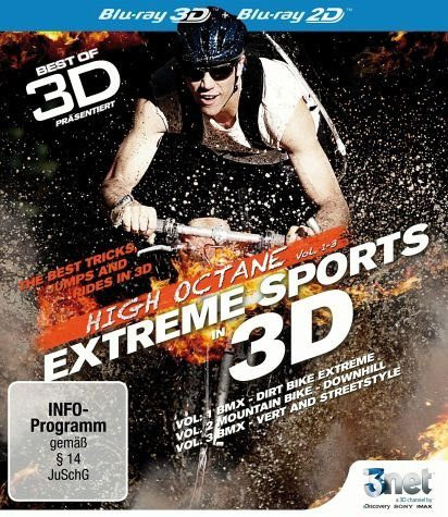 Blu-ray »Best of 3D - High Octane Vol. 1-3: Extreme...«