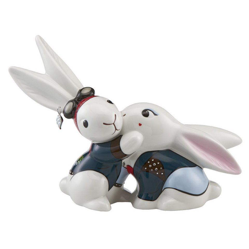 Goebel Biker Bunny in Love »Bunny de luxe« in Bunt