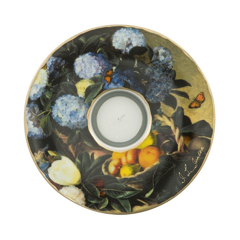 Goebel Blaue Hortensien - Künstlerteelicht »Artis Orbis« in Bunt