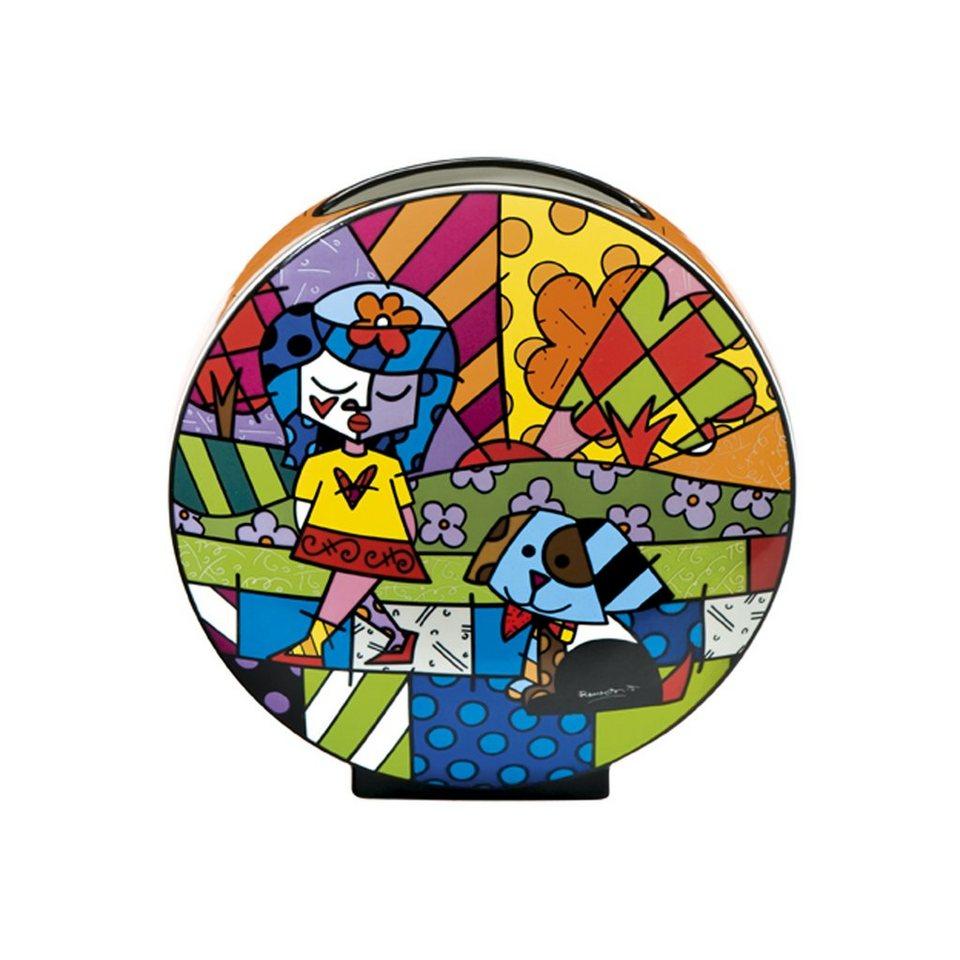 Goebel Best Friend - Vase »Artis Orbis« in Bunt
