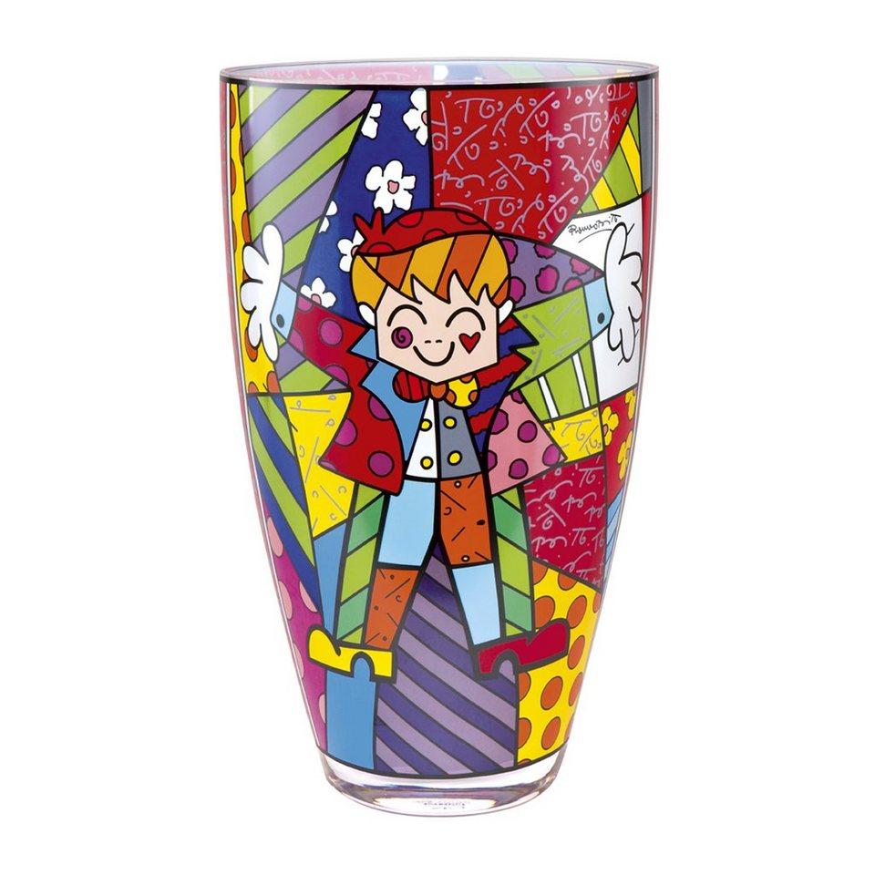 Goebel Hug Too - Vase »Artis Orbis« in Bunt