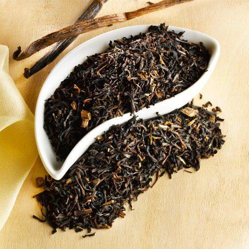 Schrader Schwarzer Tee China Vanille Bio
