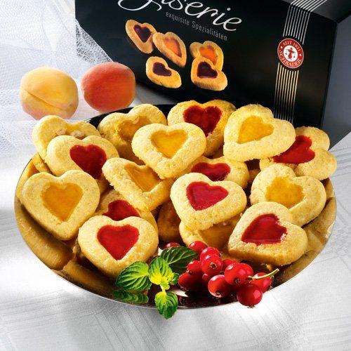 Schrader Kekse Frucht-Butterherzen
