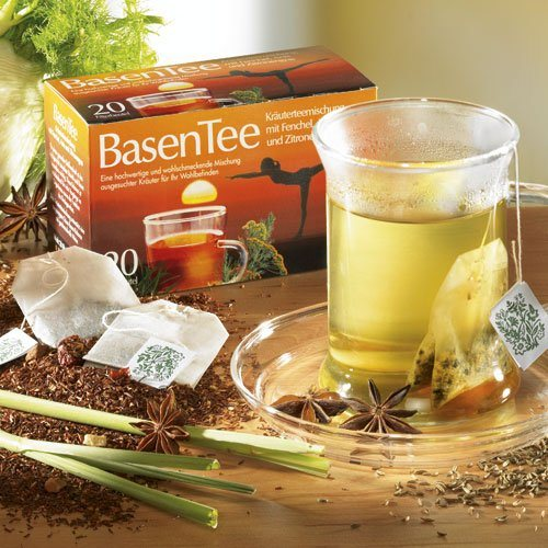 Schrader Teebeutel Kräutertee Basen Tee