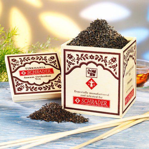 Schrader Schwarzer Tee Assam Tinkharia TGFOP1