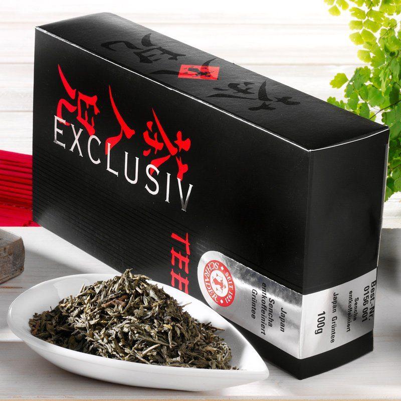 Schrader Grüner Tee entkoffeiniert Japan Sencha
