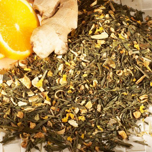 Schrader Grüner Tee aromatisiert mit Orange-Ingwer natürlich
