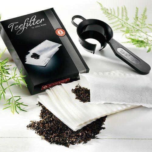 Schrader Teefilter-Halter-Set