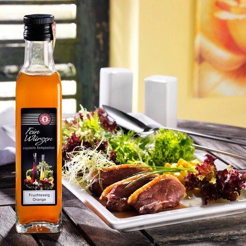 Schrader Essig mit Orangen 250 ml