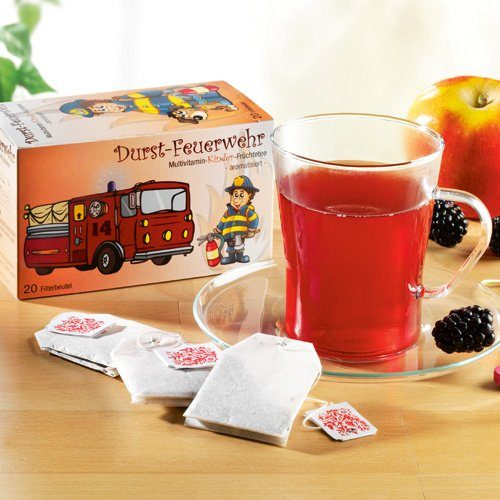 Schrader Früchtetee Kinder-Multivitamin Durst-Feuerwehr