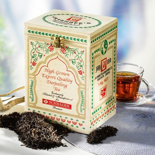Schrader Schwarzer Tee Darjeeling Second Flush Puttabong FT