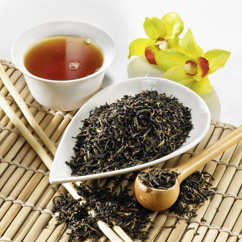 Schrader Schwarzer Tee China Yunnan FOP Bio