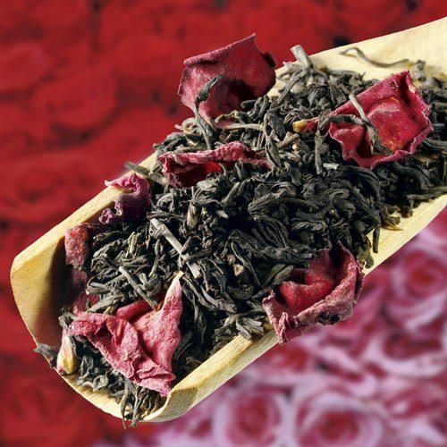Schrader Aromatisierter schwarzer Tee China Rose