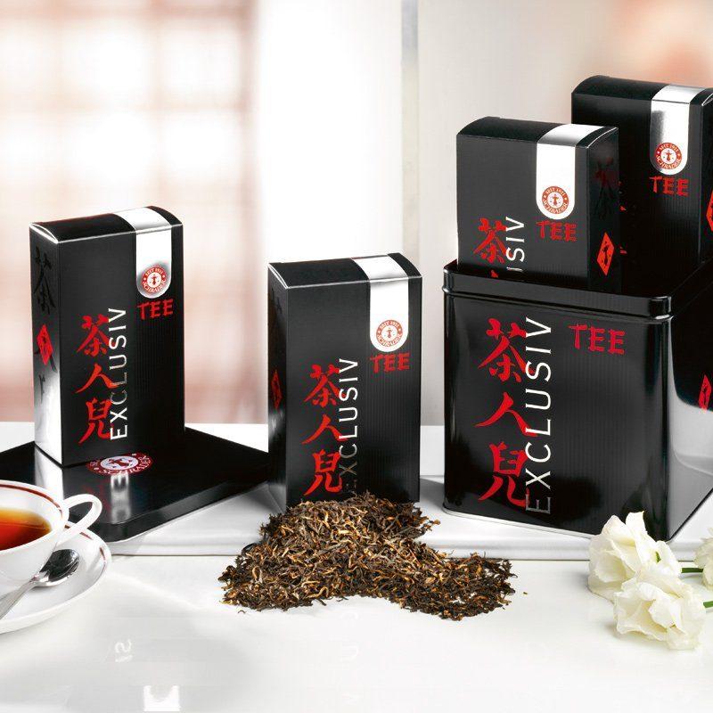 Schrader Schwarzer Tee Assam Schwarztee-Sortiment