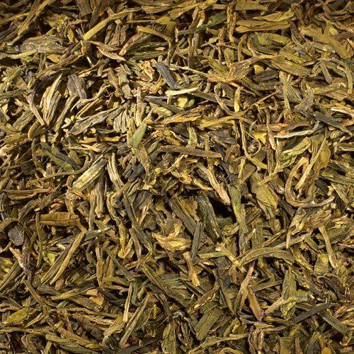 Schrader Grüner Tee China Lung Ching Bio - Die Drachenquelle