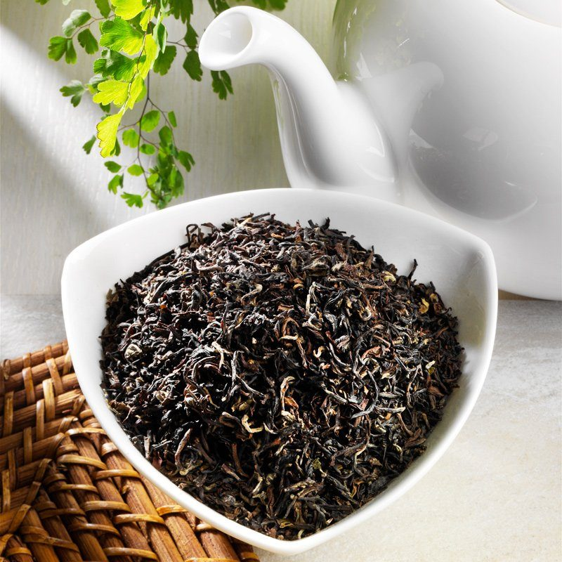 Schrader Schwarzer Tee Darjeeling Second Flush Margaret's H