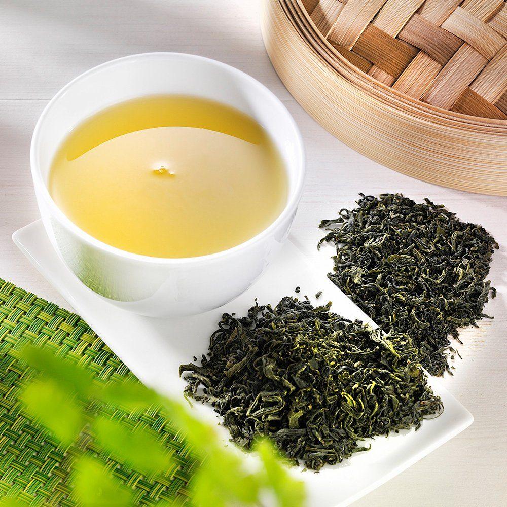 Schrader Grüner Tee Südkorea Joongjak Bio