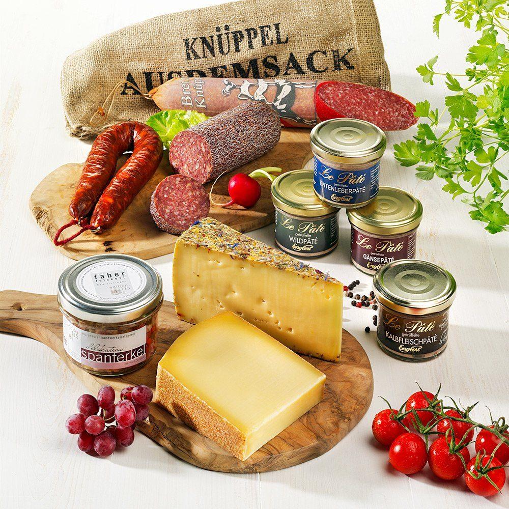 Schrader Probierbox Wurst & Käse