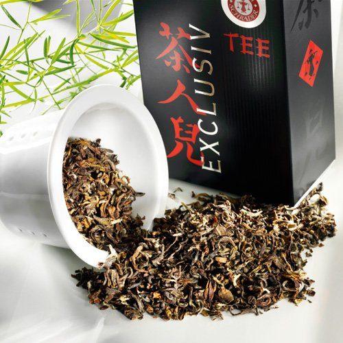 Schrader Schwarzer Tee Nepal Himalaya Shangri-La SFTGFOP1 Bio