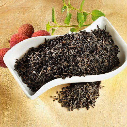 Schrader Aromatisierter schwarzer Tee China Litchi Congou