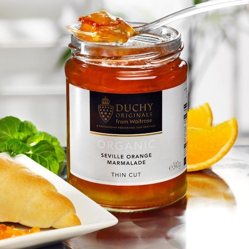 Duchy Duchy Originals Seville-Orangen-Marmelade Fine Cut Bio