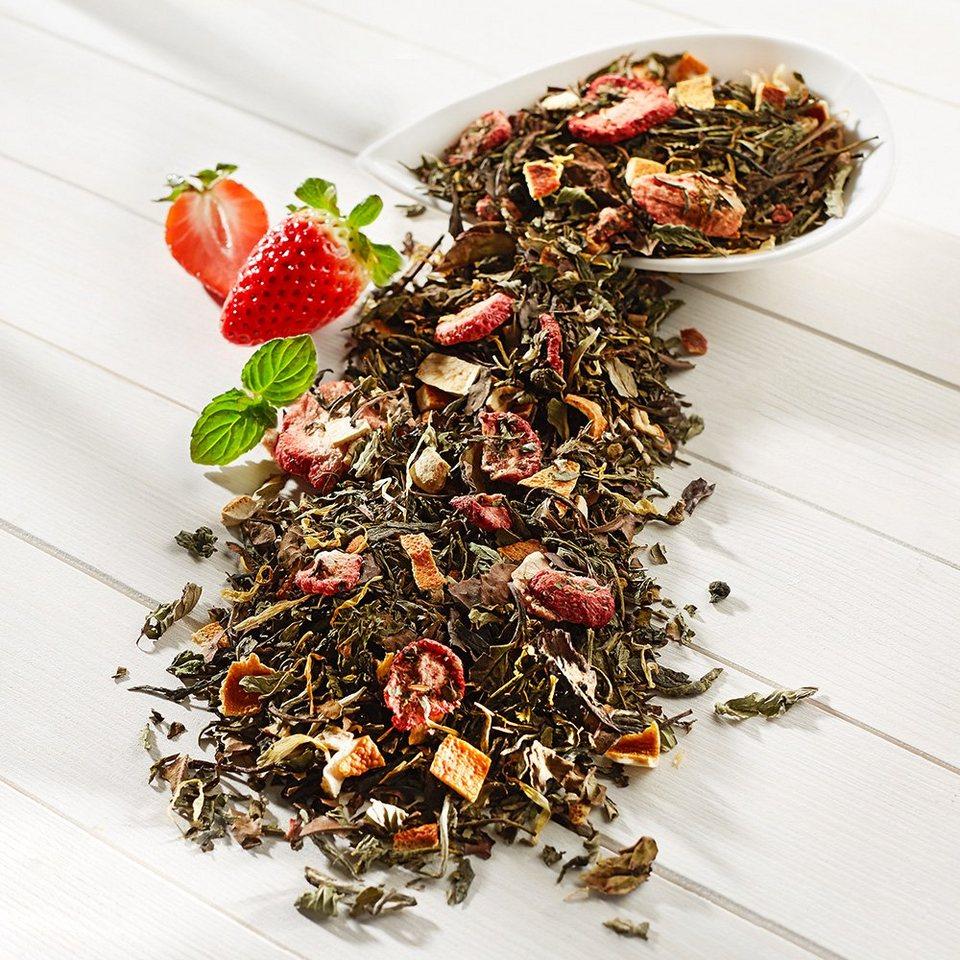 Schrader Weißer Tee Erdbeer-Minze