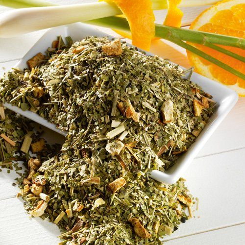 Schrader Grüner Mate Tee Lemon natürlich