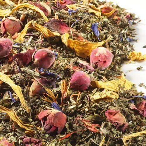 Schrader Grüner Mate Tee Grün Mint