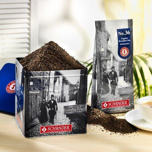 Schrader Tee No. 36 Schwarzer Tee English Breakfast Tea
