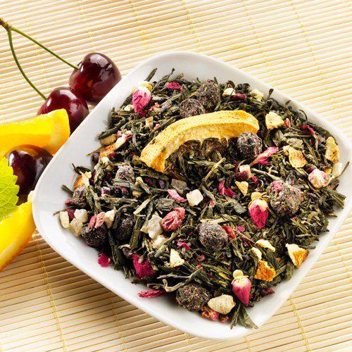 Schrader Sakuras Lächeln® Aromatisierter Grüner Tee