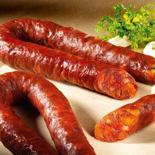 Schrader Spanische Chorizo-Paprikasalami im Stück