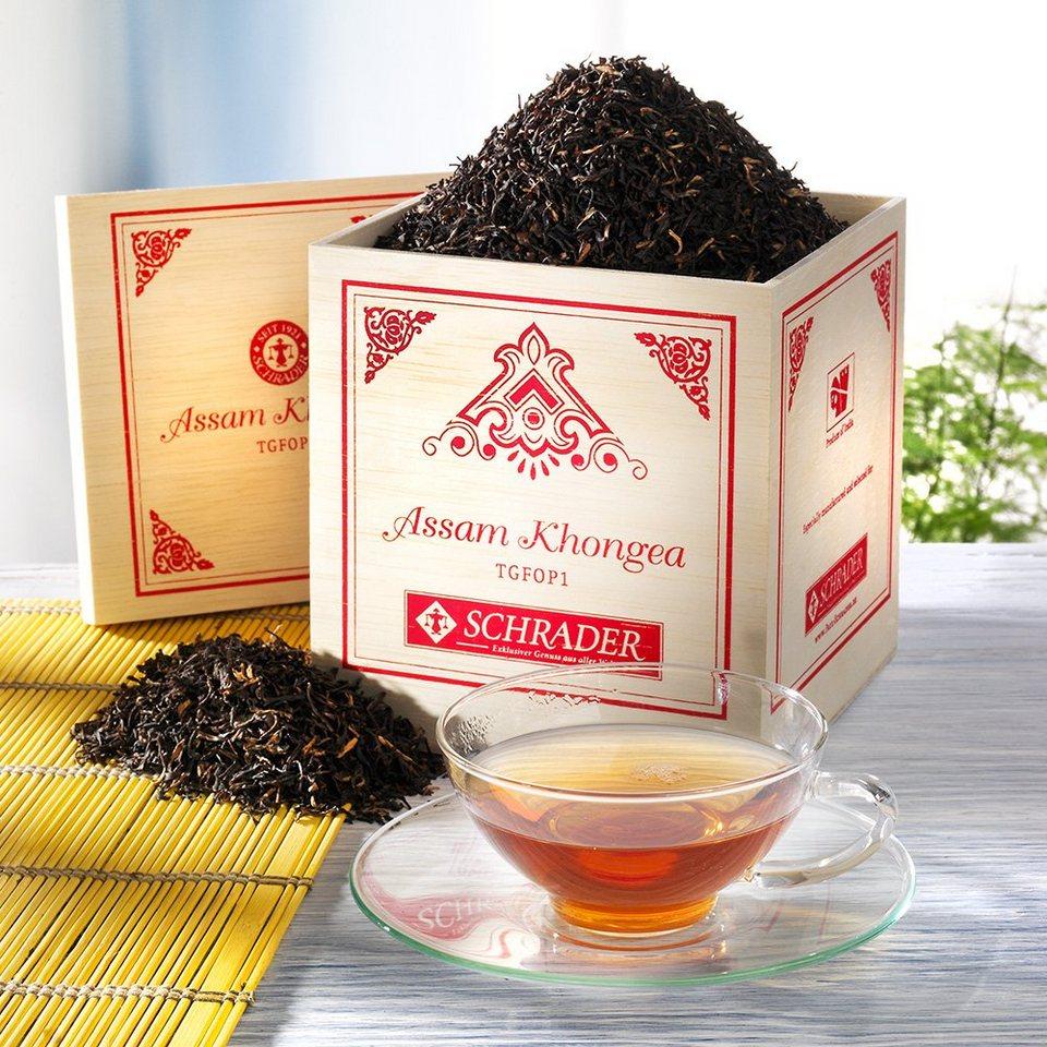 Schrader Schwarzer Tee Assam Khongea TGFOP1
